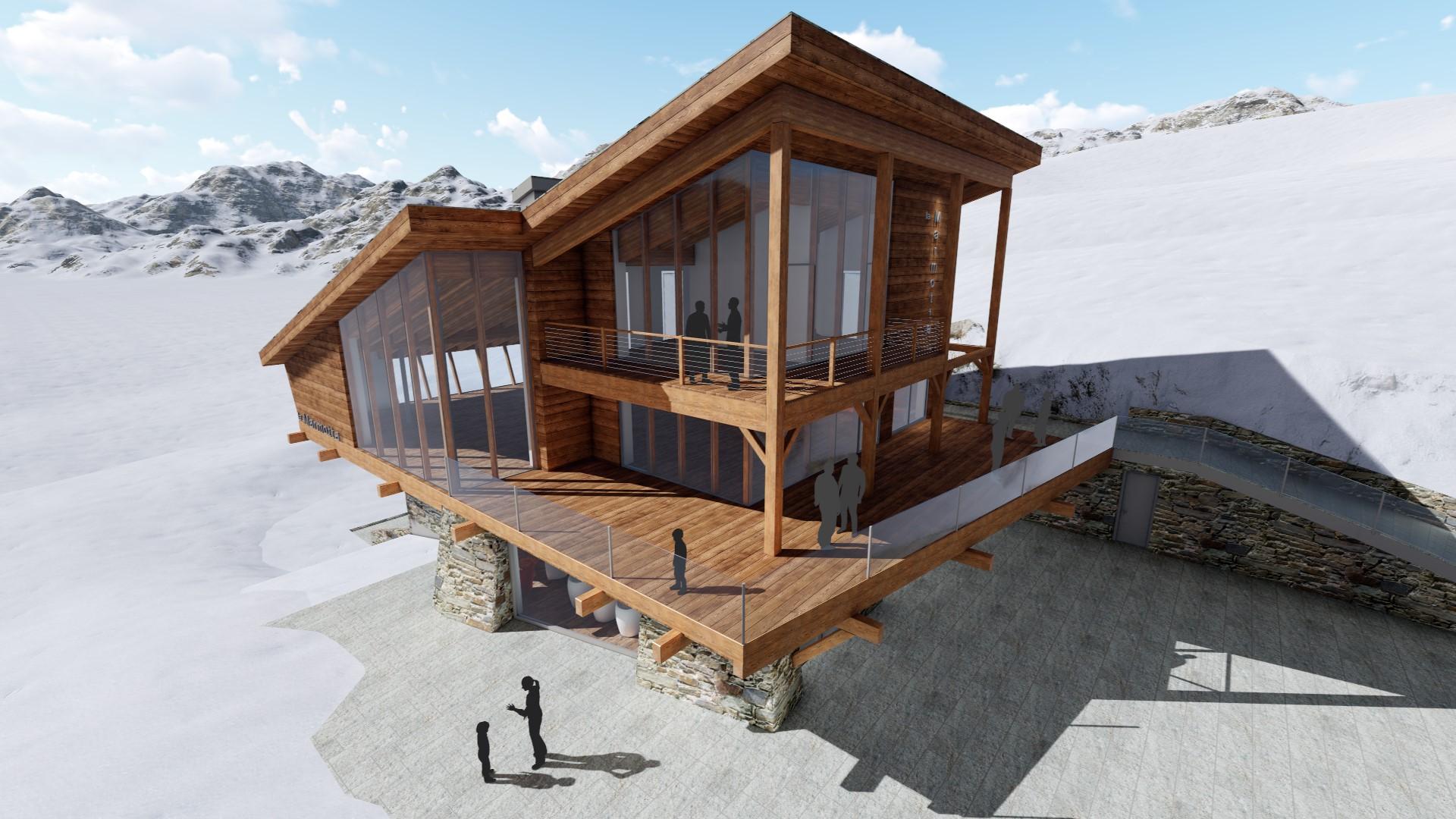 Rifugio La Marmotta - progetto in corso