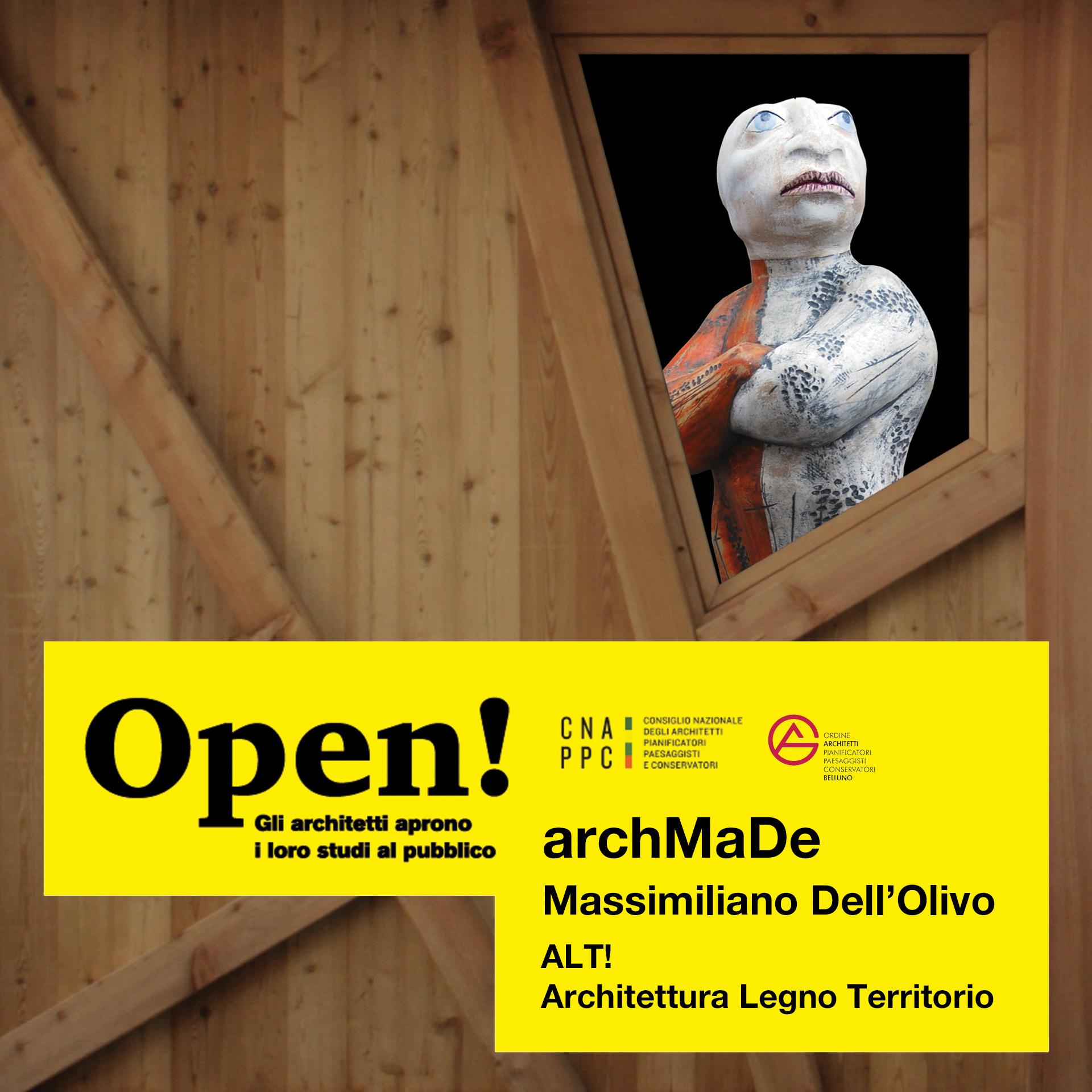 Fotografia evento studio archMaDe: ALT Architettura Legno Territorio