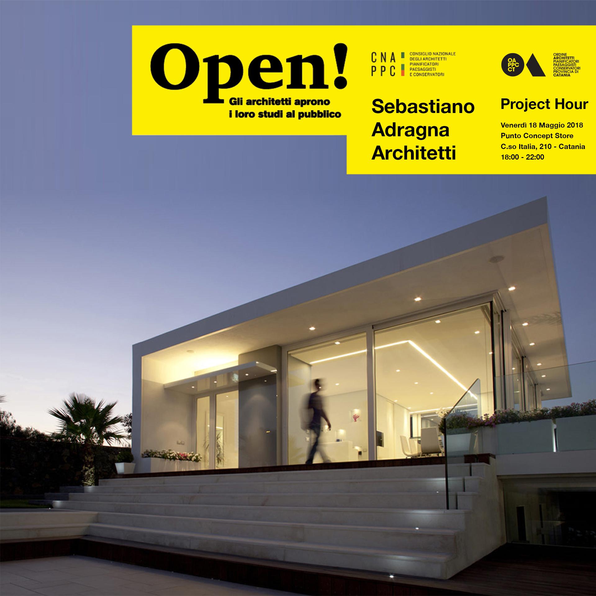 Foto di un'opera realizzata dallo studio SebastianoAdragnaArchitetti - Villa con Piscina