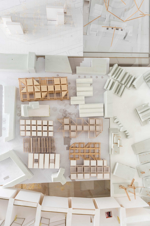 Plastici di Progetto all'interno dello studio
