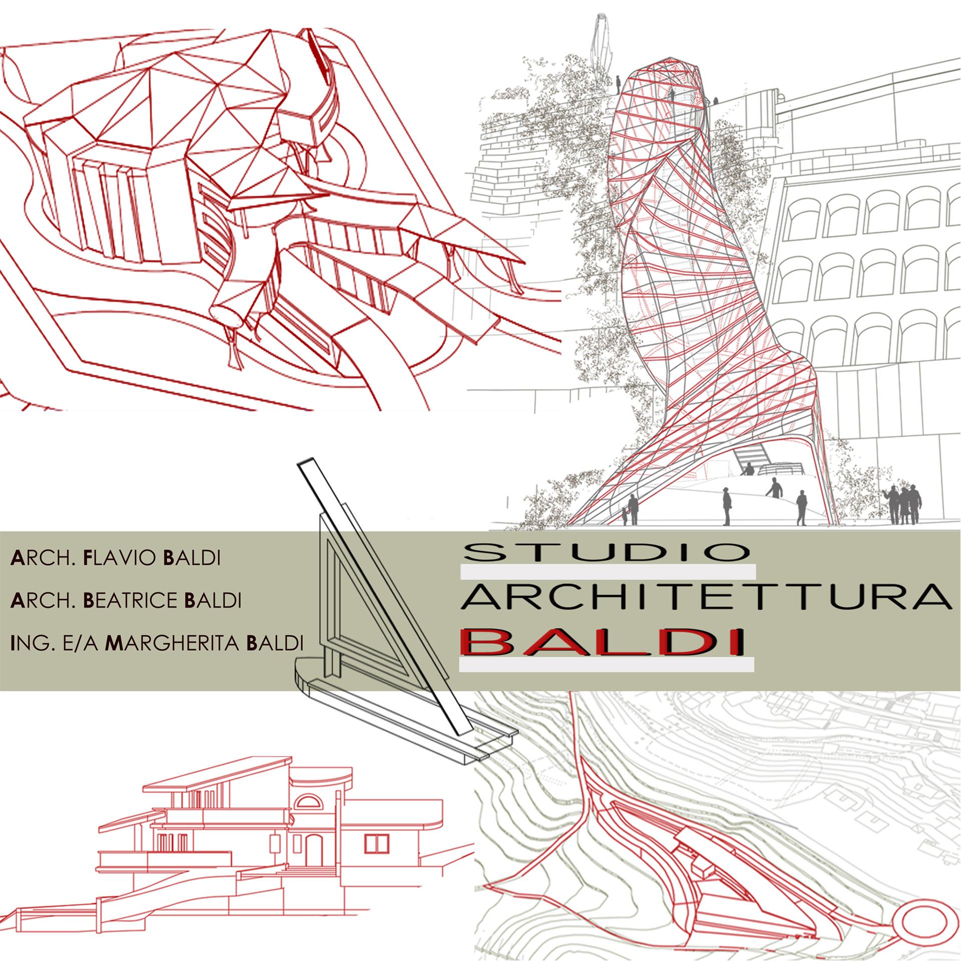 LOGO DELLO STUDIO DI ARCHITETTURA BALDI