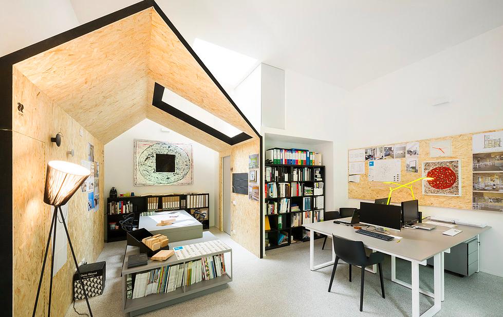 Fotografia dello studio di Condiviso Architetti
