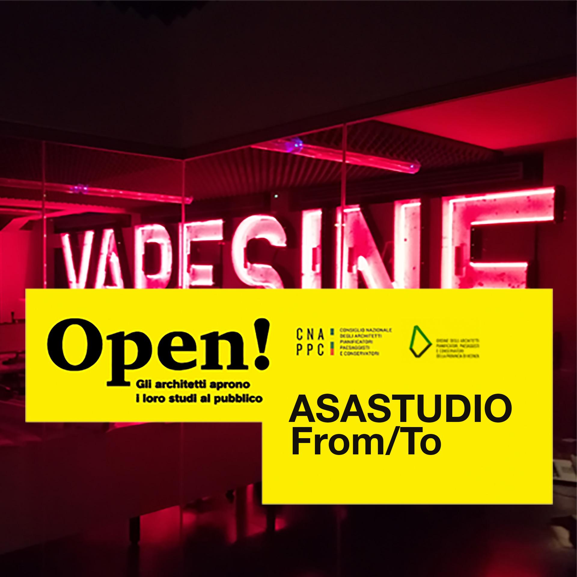 Immagine dell'openspace di asastudio