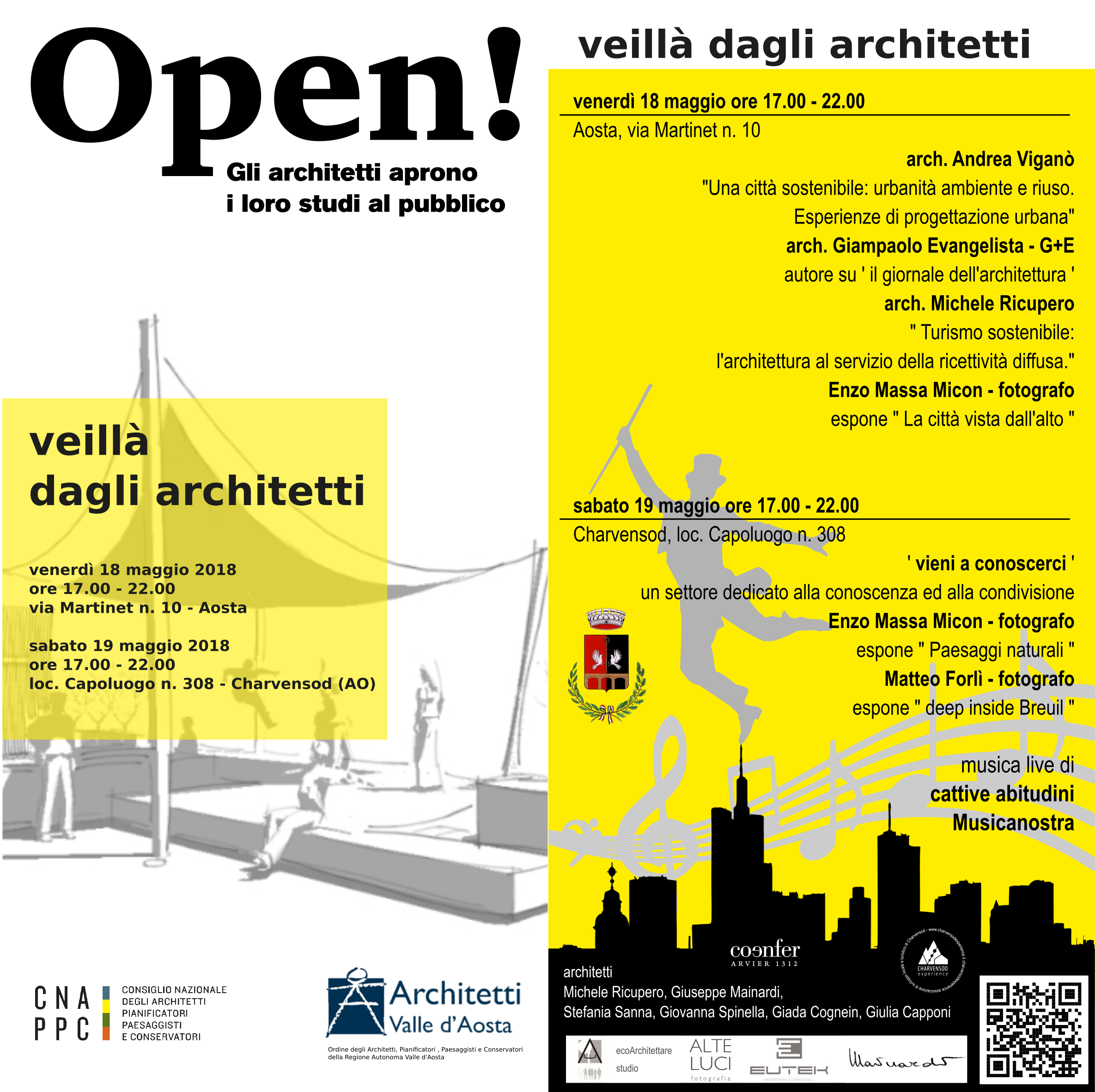 ecoArchitettare studio is Open!