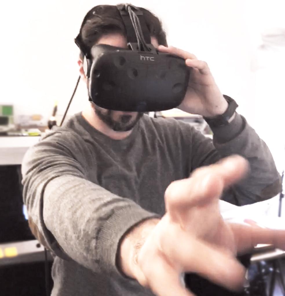 foto del visore per la realtà virtuale