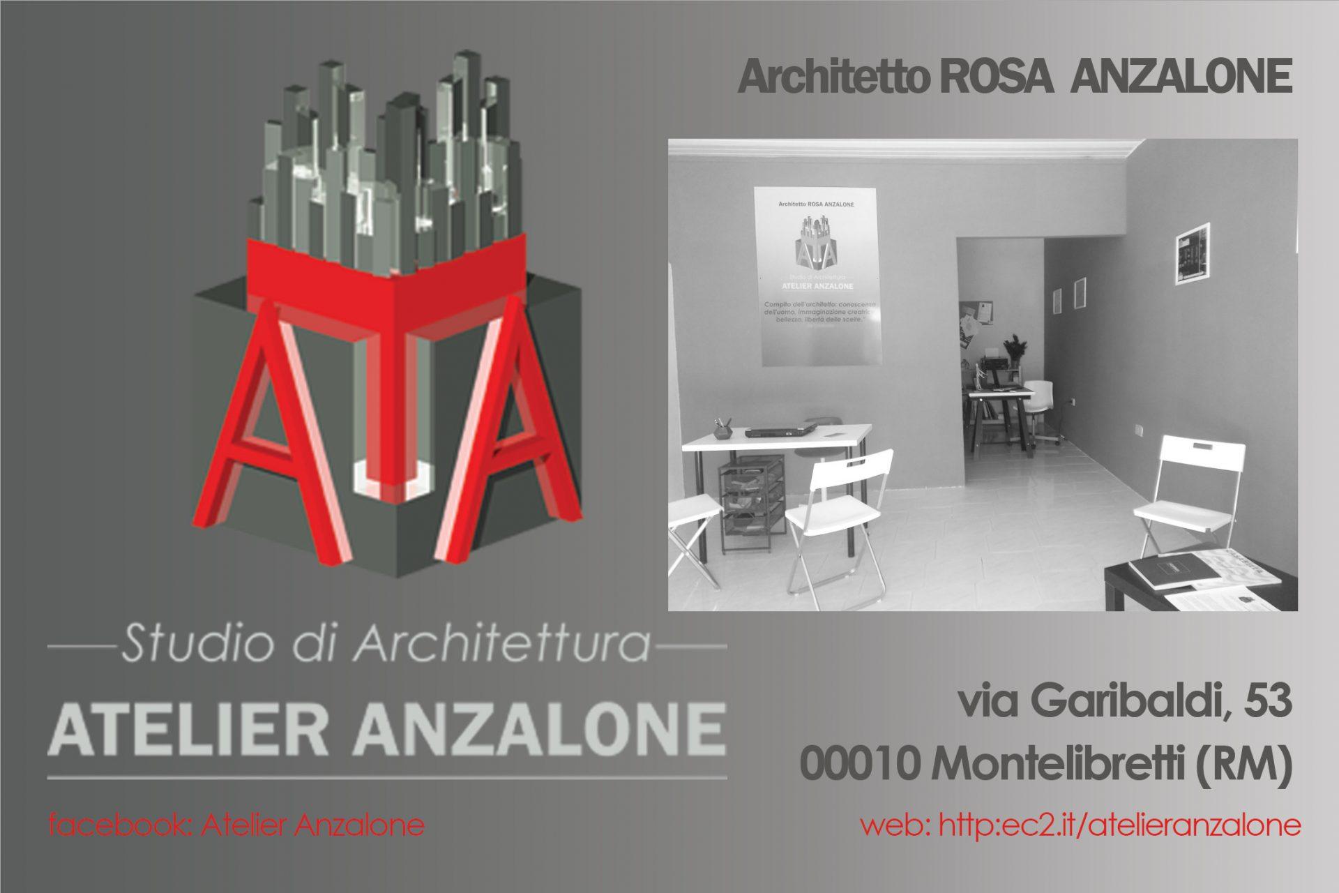 LOGO E FOTO STUDIO DI ARCHITETTURA ATELIER ANZALONE