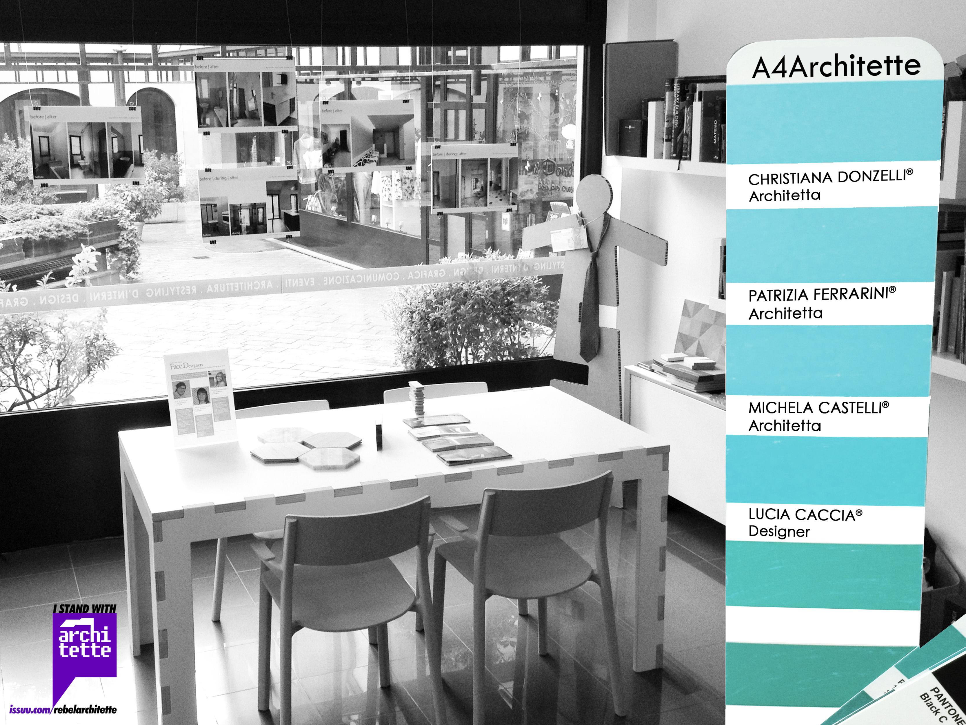 Fotografia dello studio di architettura