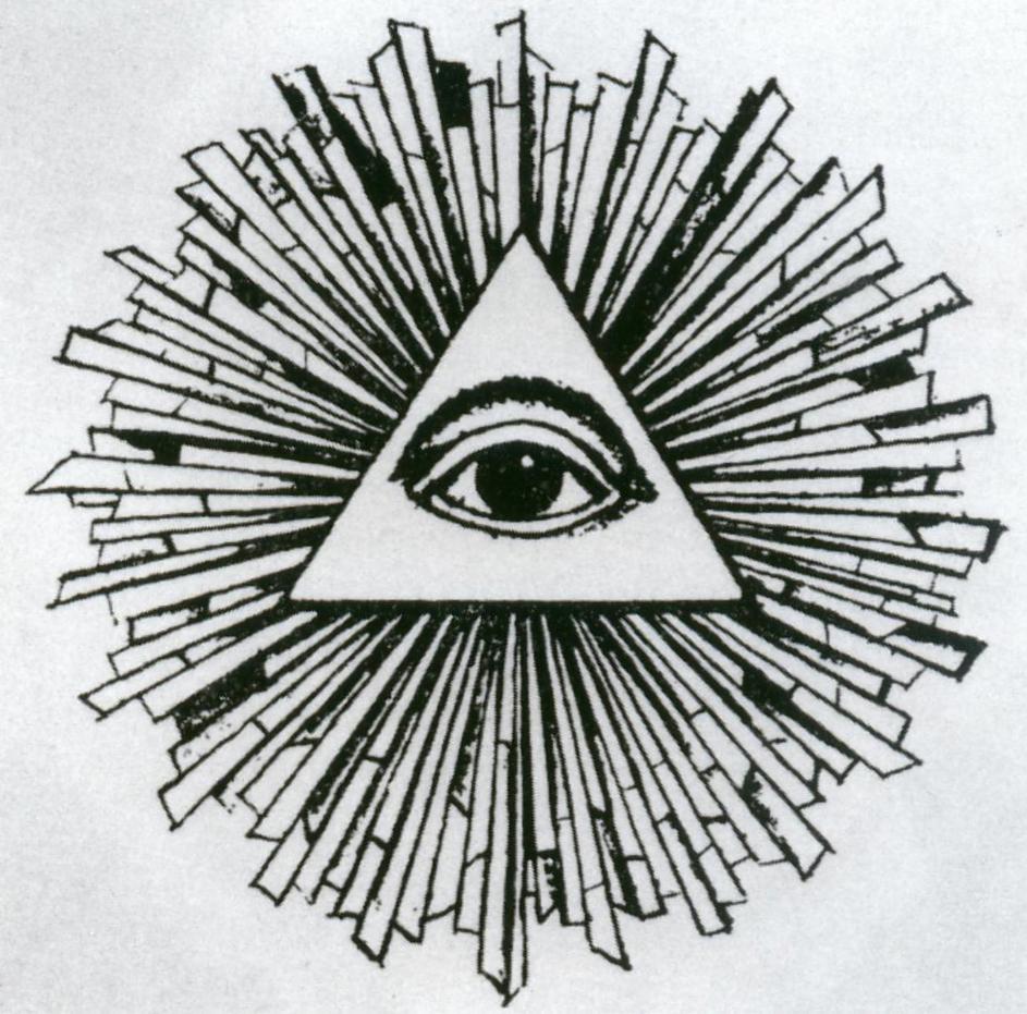 triangolo, raggi e un occhio. il sapere dell'Architettura