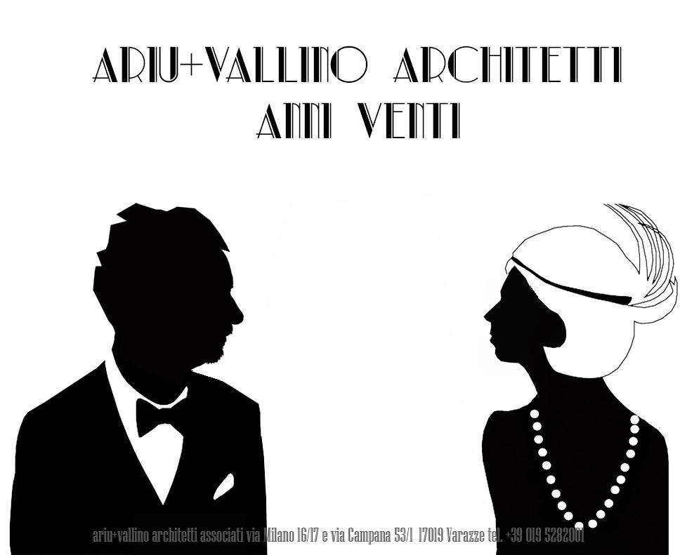 Mostra Anni Venti di progettazioni dello studio Ariu+Vallino
