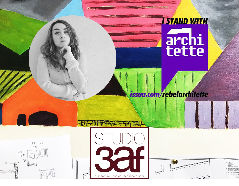 Architetta Martina Ottaviano di Team Rebelarchitette per Studio 3af
