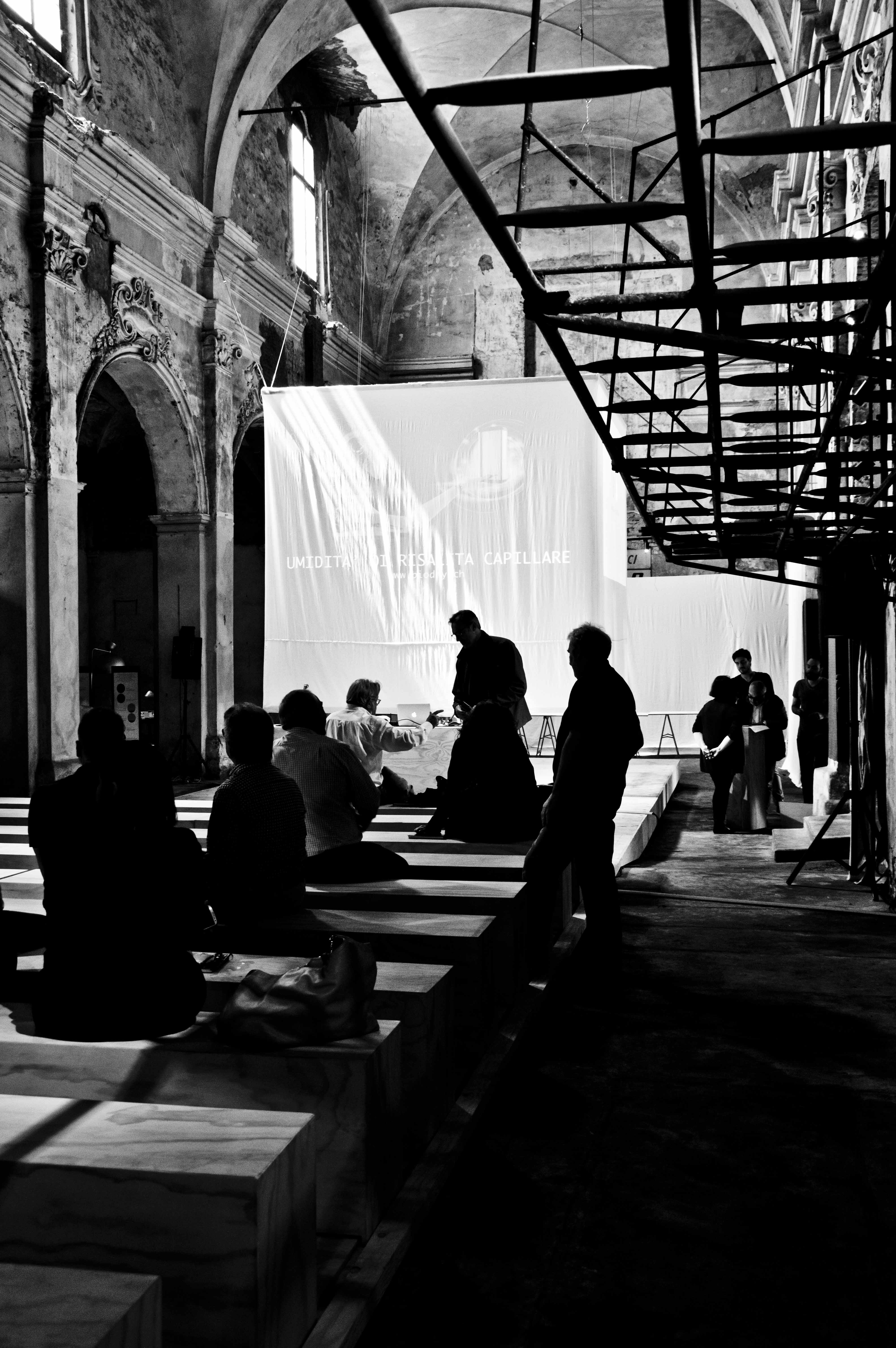 Fotografia della Ex Chiesa di San Cristoforo, sede dell'evento
