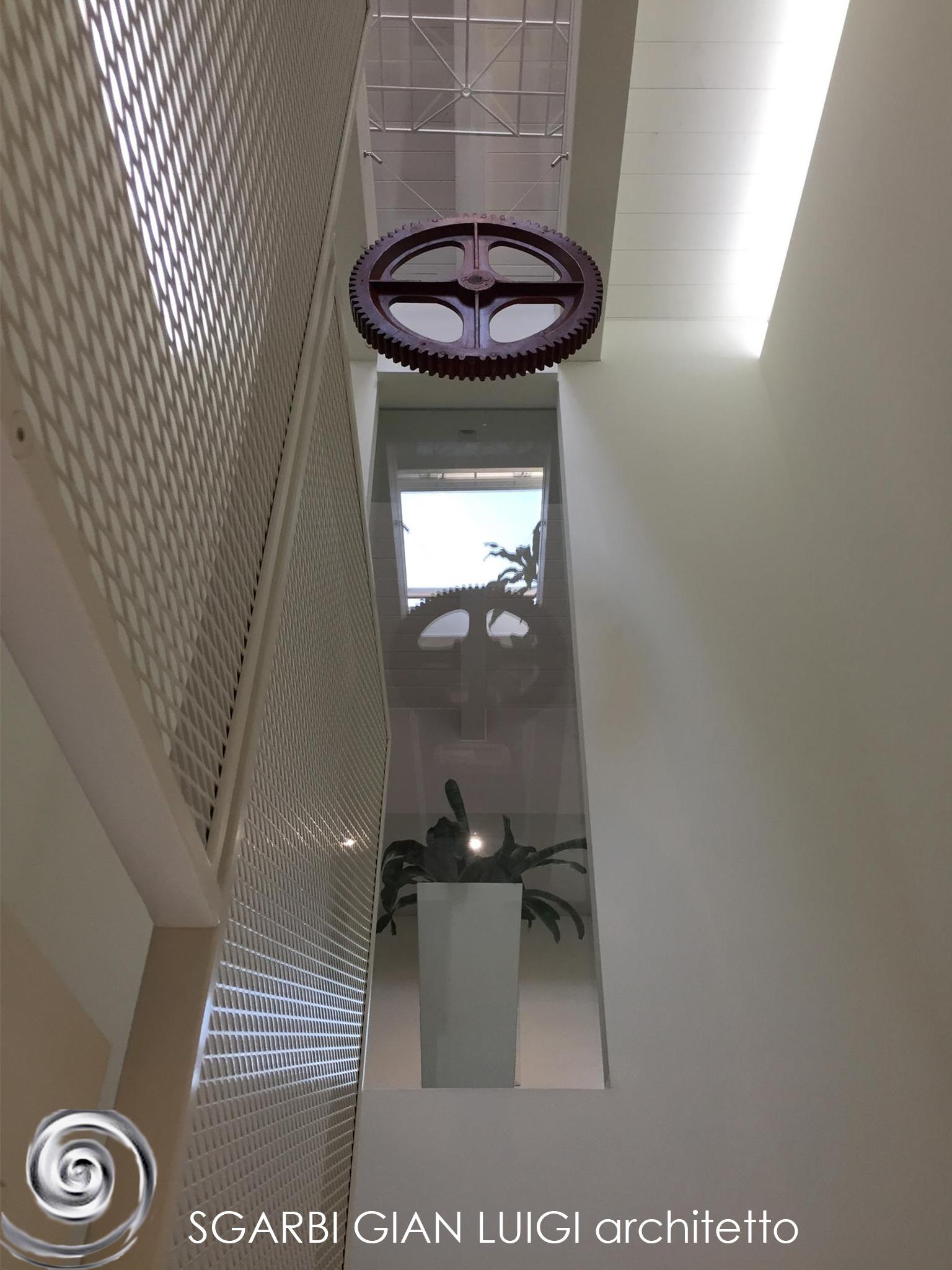 Fotografia di un particolare dello studio di architettura