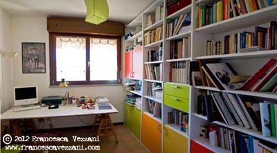 Fotografia dello studio di architettura di Francesca Vezzani
