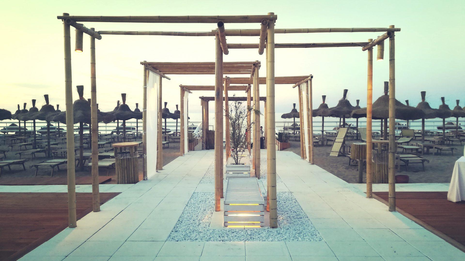 Immagine di uno dei nostri lavori interamente realizzato in bambù