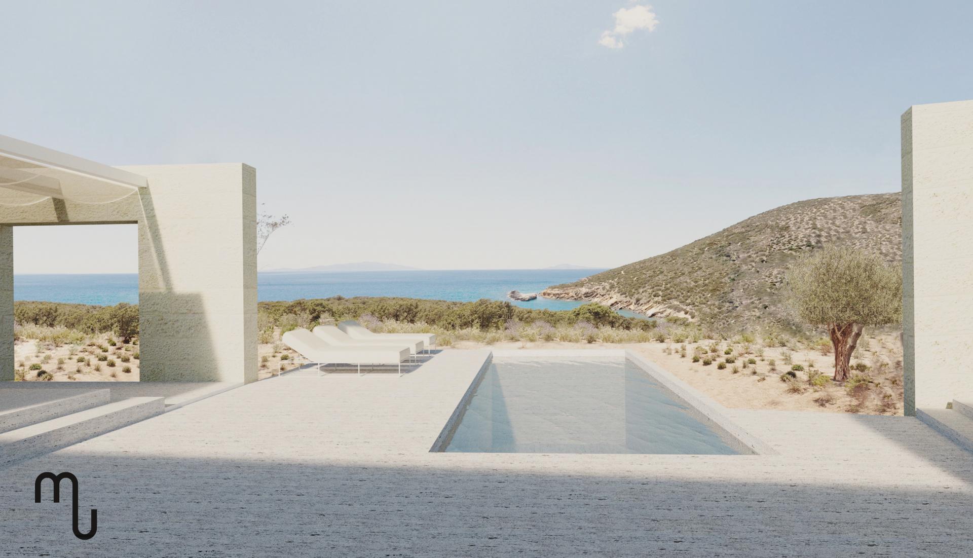 Luce e Vento del Mediterraneo plasmano una casa per vacanze