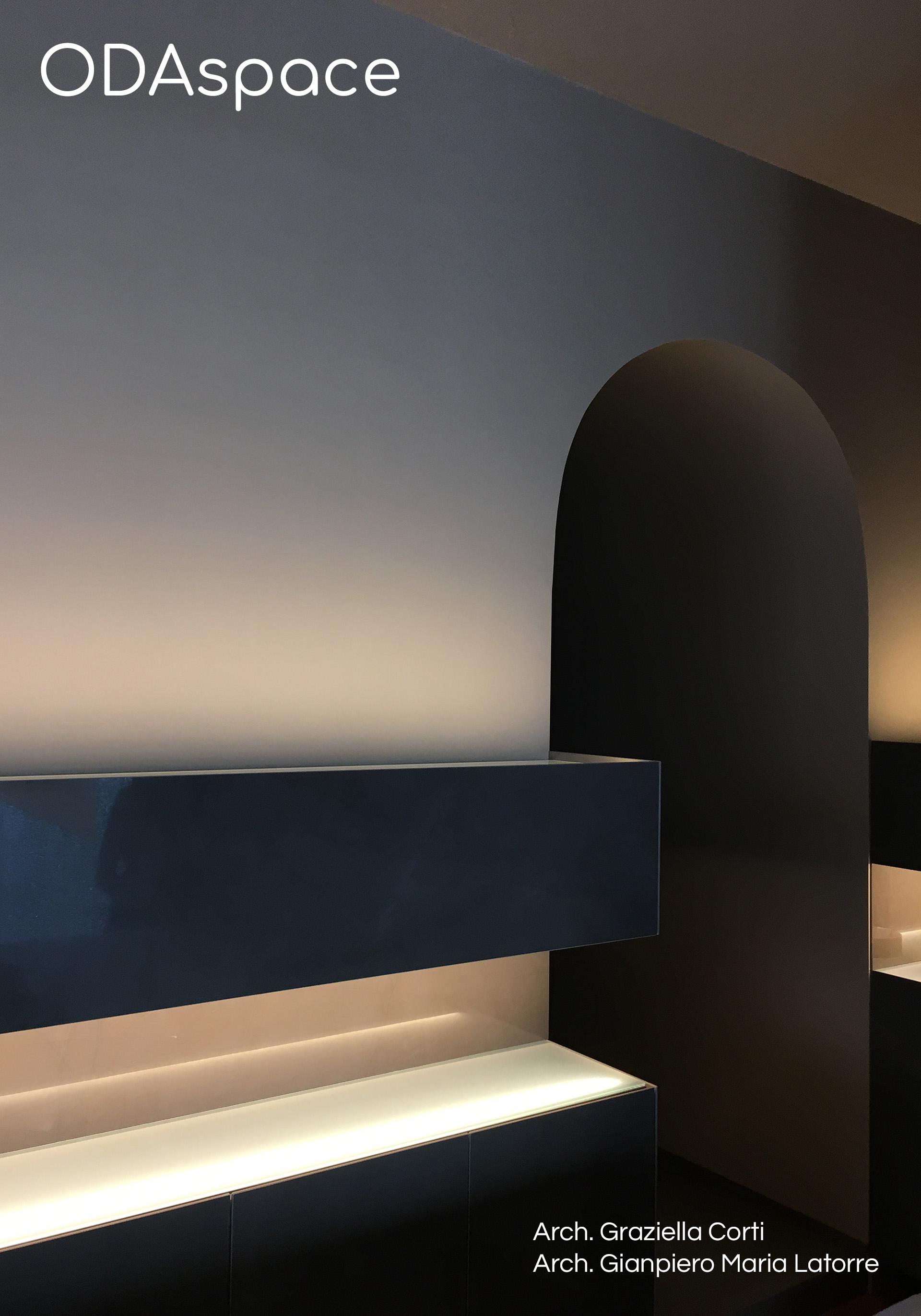 Fotografia di un progetto di interni realizzato a Matera