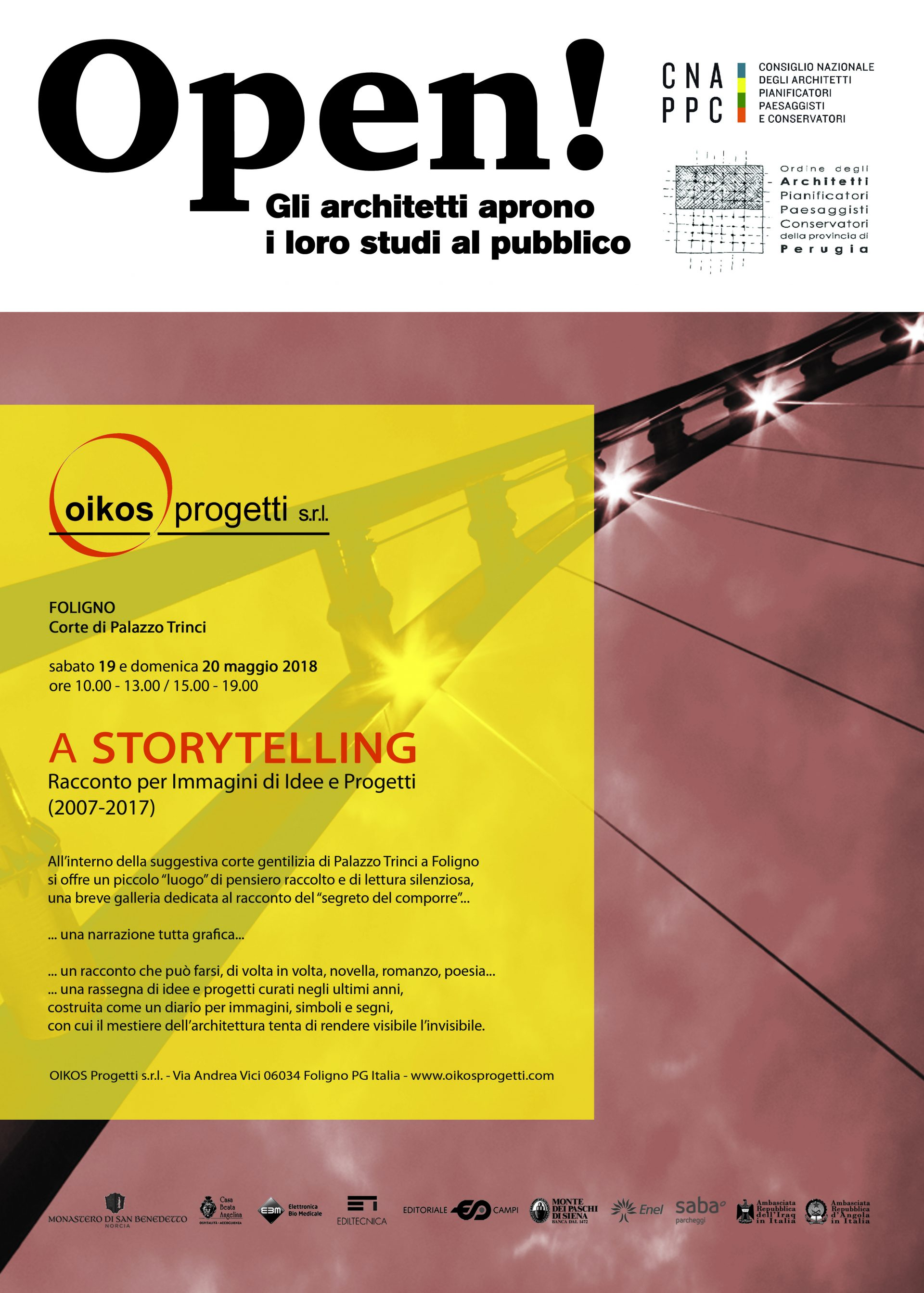Rassegna di alcuni dei progetti più significativi dello studio Oikos di Foligno, realizzat