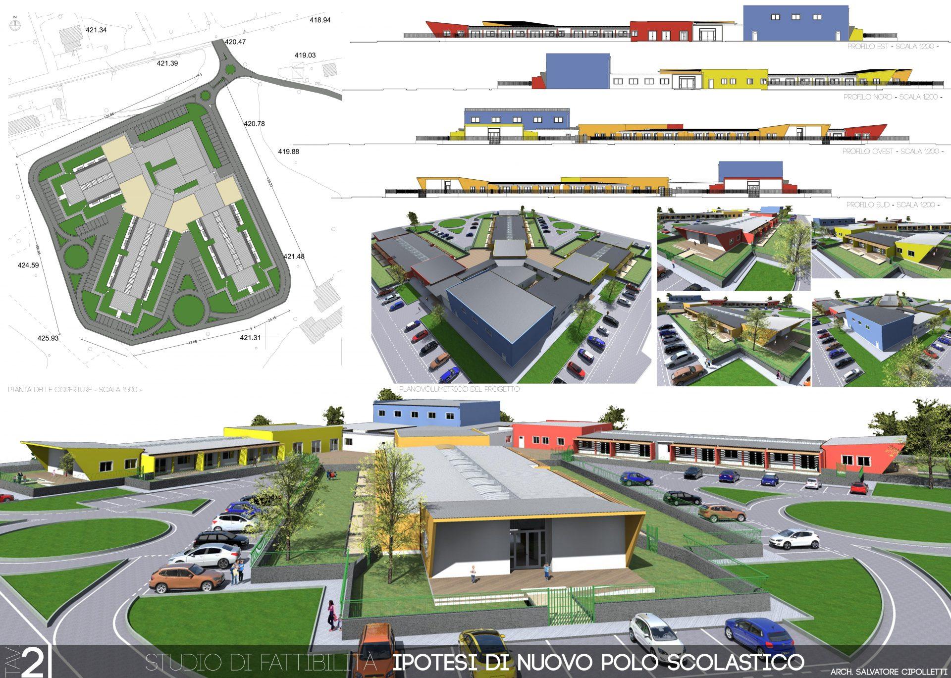 Immagine grafica della tavola di progetto
