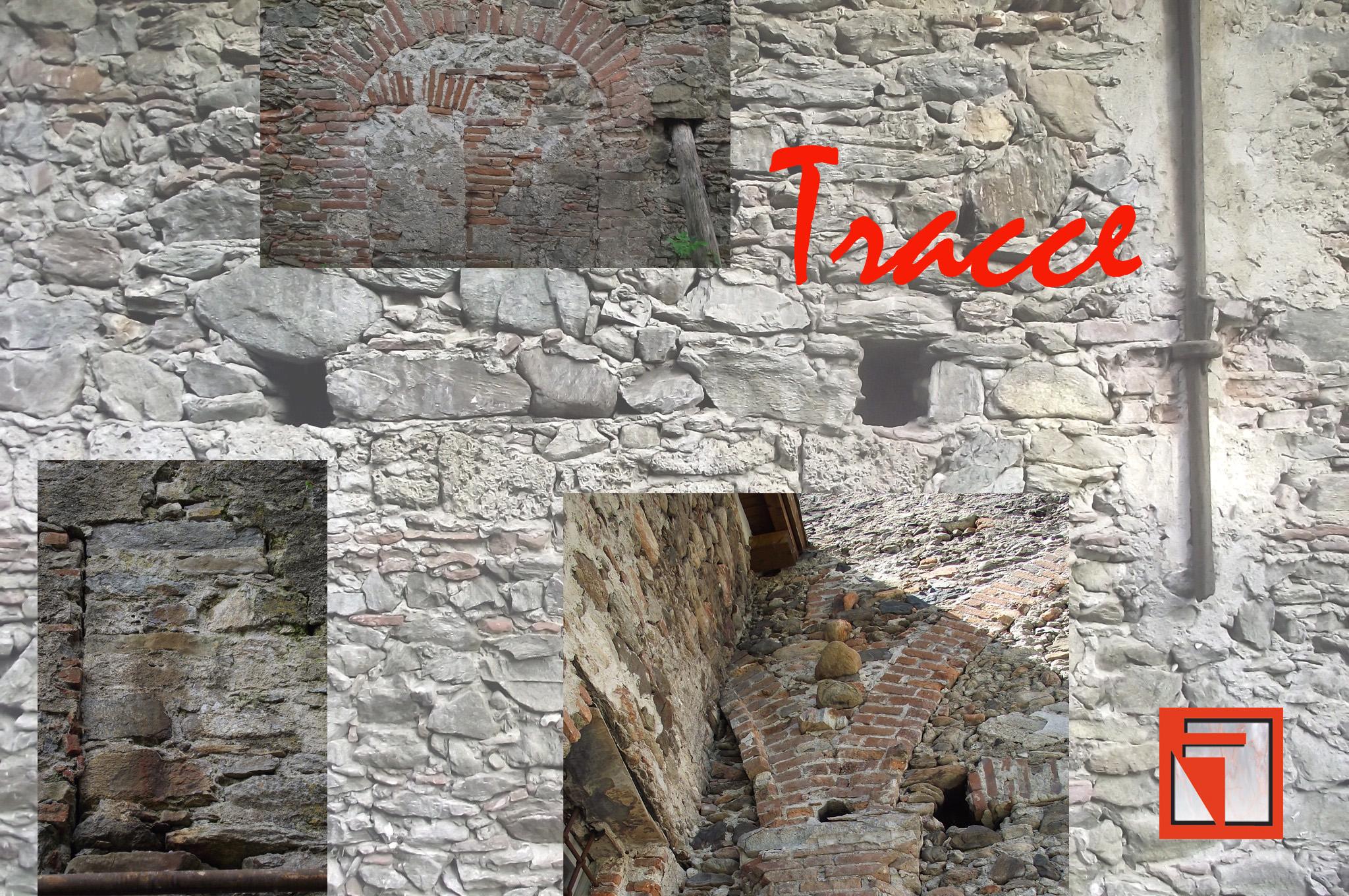 tracce e segni sulla pietra