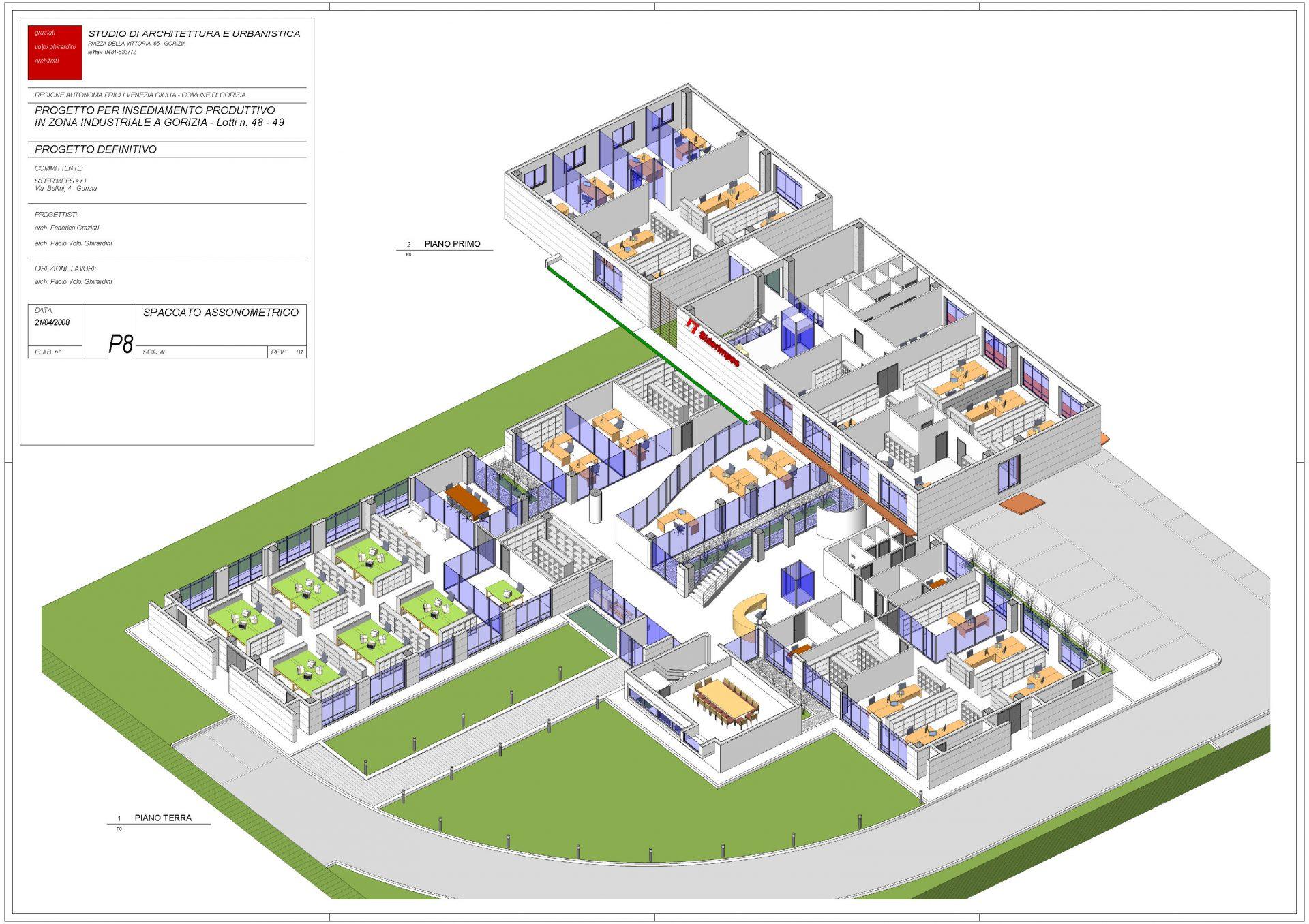 Progetto per insediamento industriale