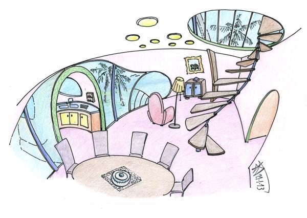 Turtle House - progetto