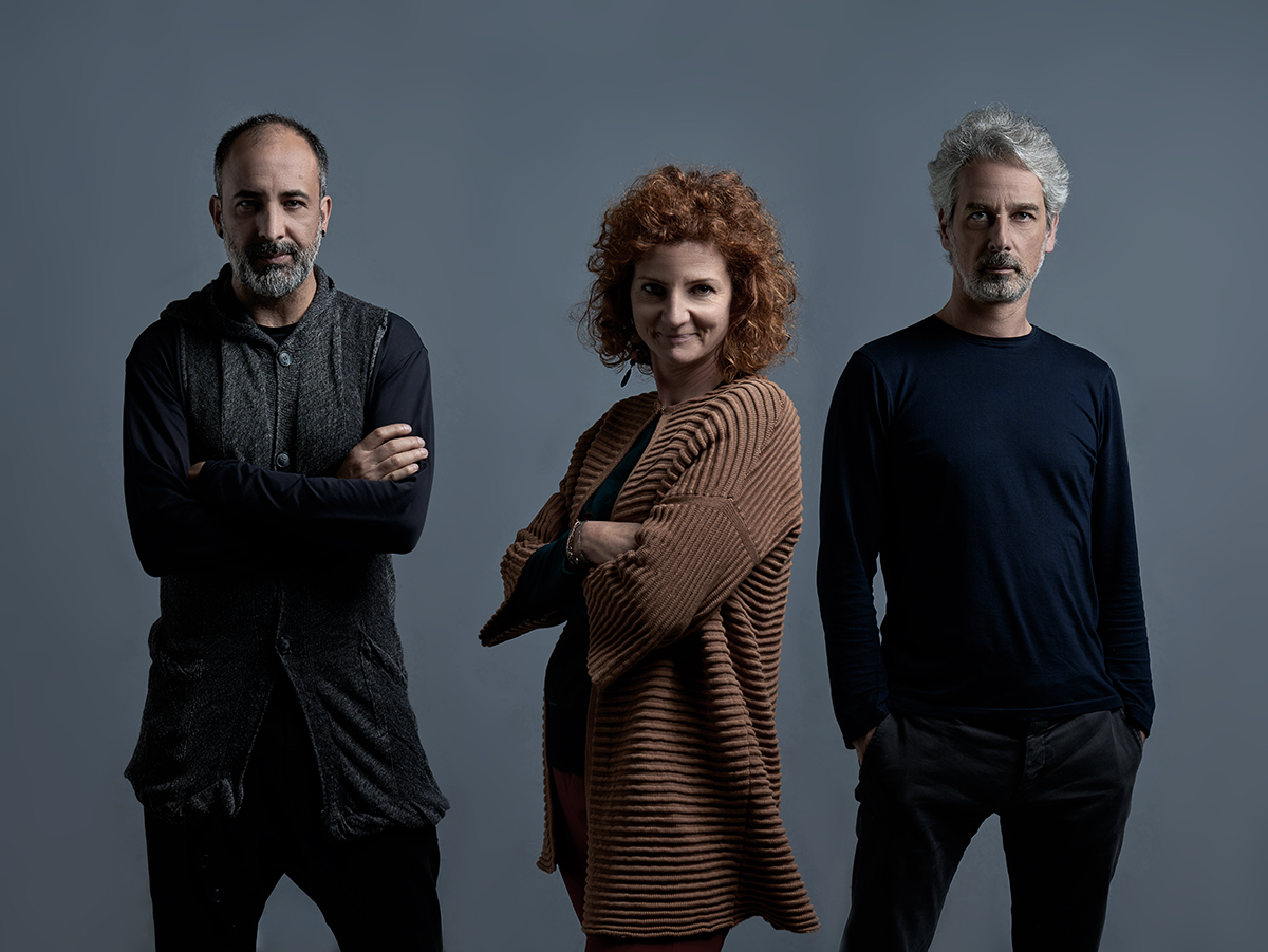 Gildardo Gallo con Eva Parigi e Matteo Zetti (ZPSTUDIO)