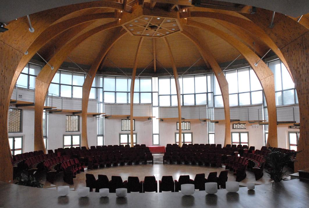 fotografia dell'interno del Centro Congressi