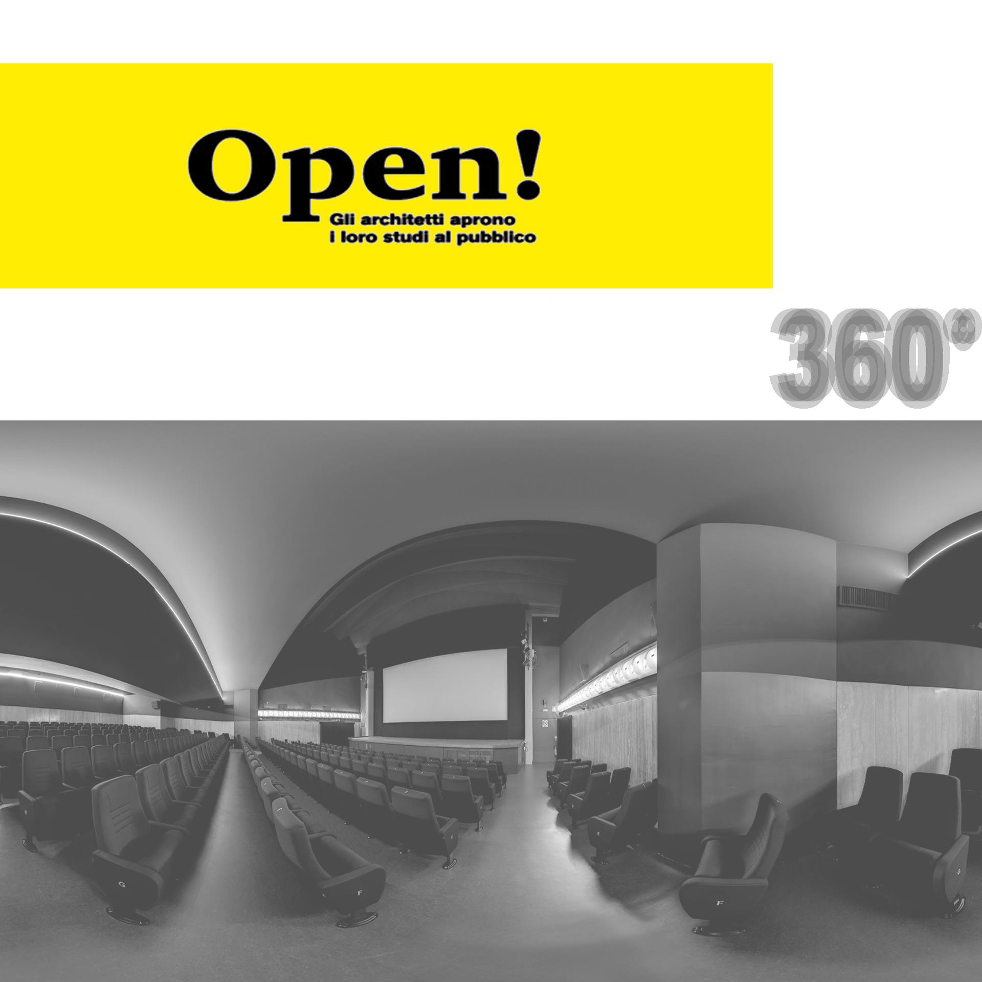 Fotografia a 360° di un ambiente interno