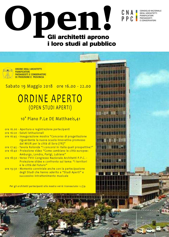 poster dell'iniziativa con programma