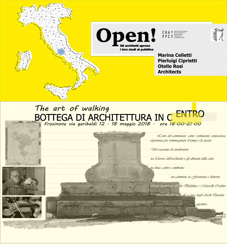 Mappa gregoriana del centro storico di Frosinone