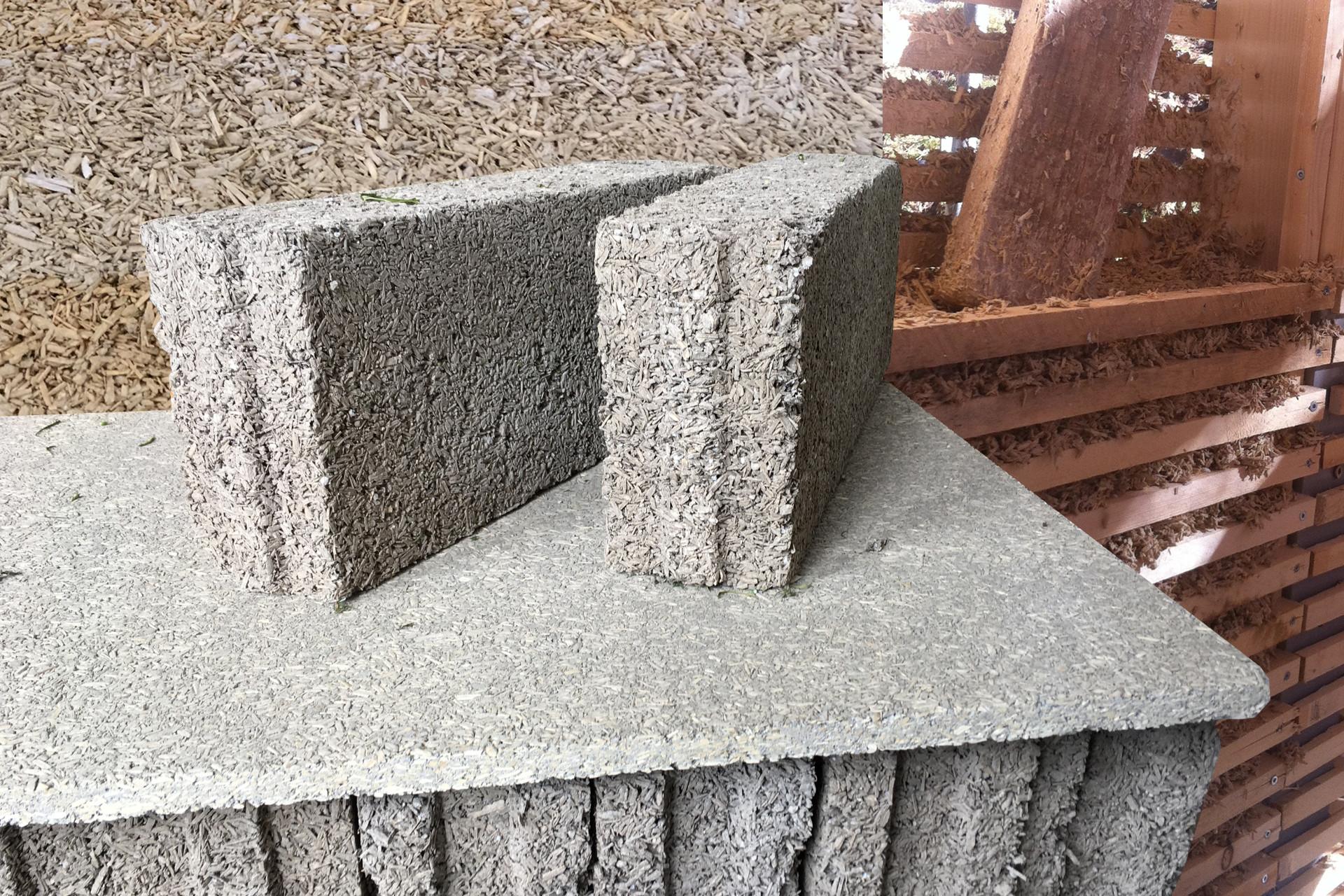 Calce canapa come materiale da costruzione, in mattoni, pannelli ecc.