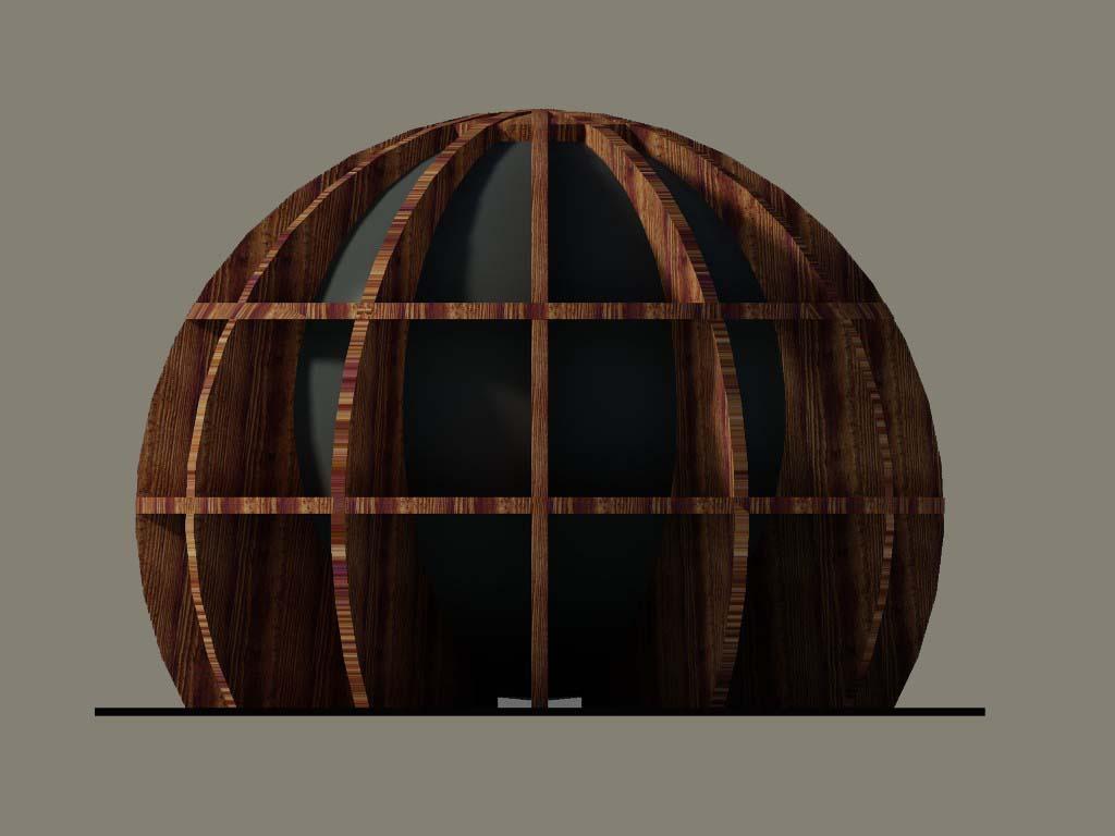 ECOSFERA: Abitare in una struttura di legno e vetro.