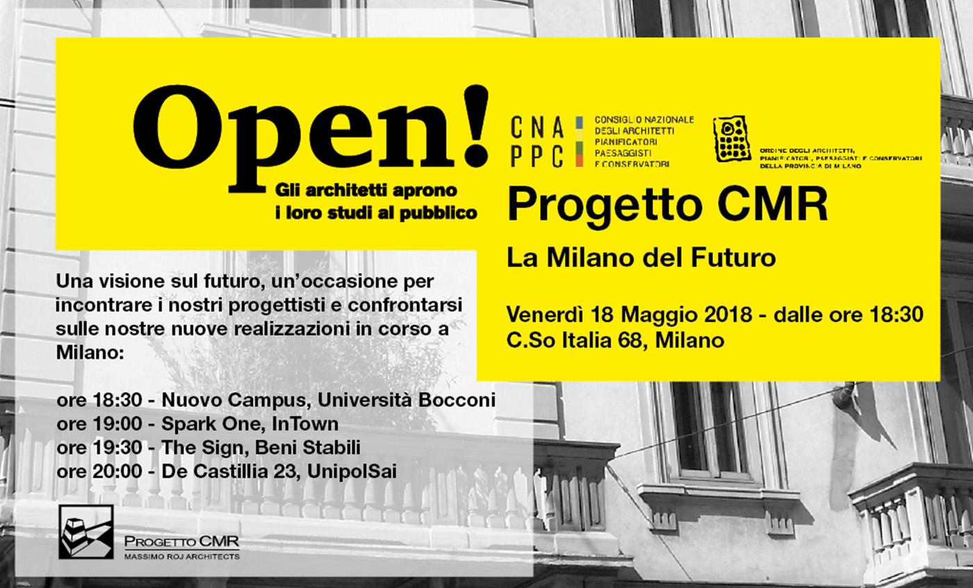 Locandina evento Progetto CMR