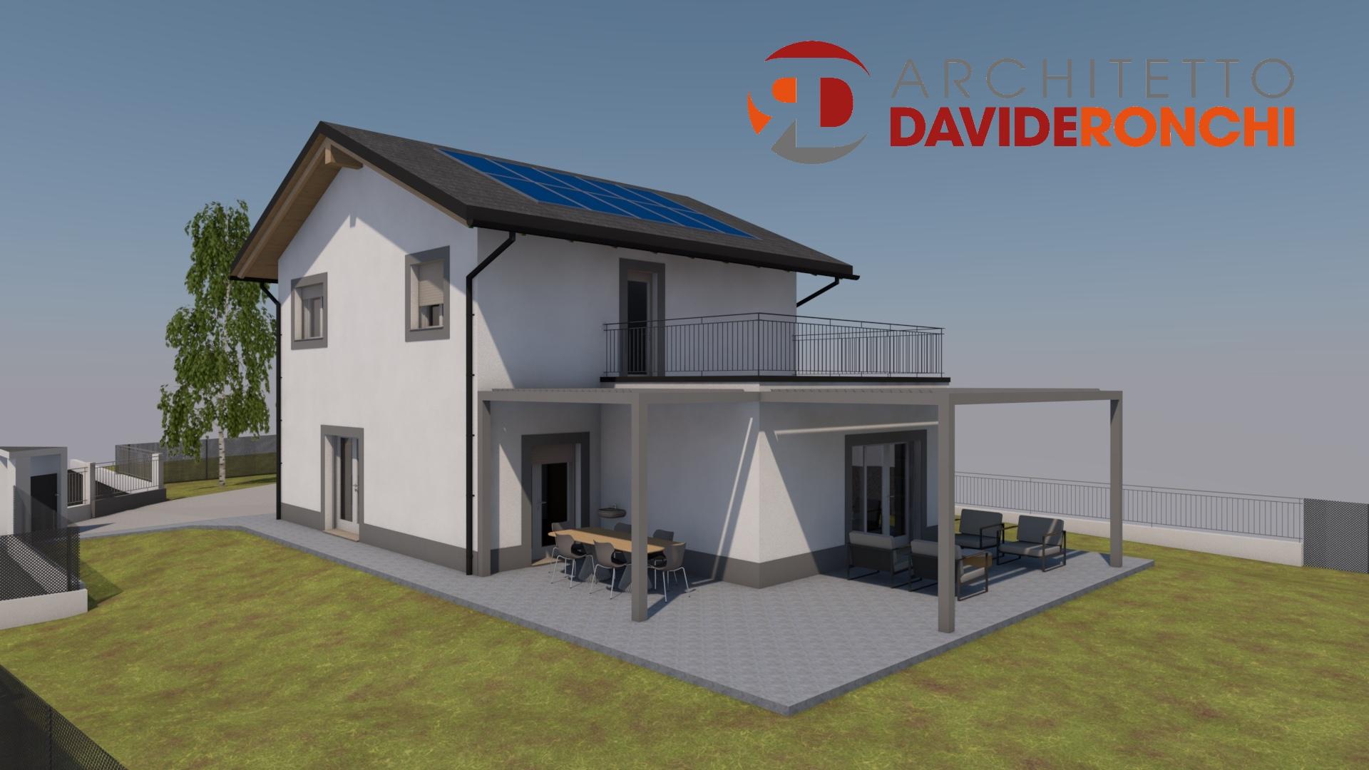 Villa Unifamiliare tecnologia costruttiva telaio legno