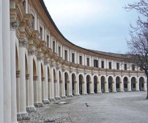 fotografia del contesto architettonico ove è situato lo studio