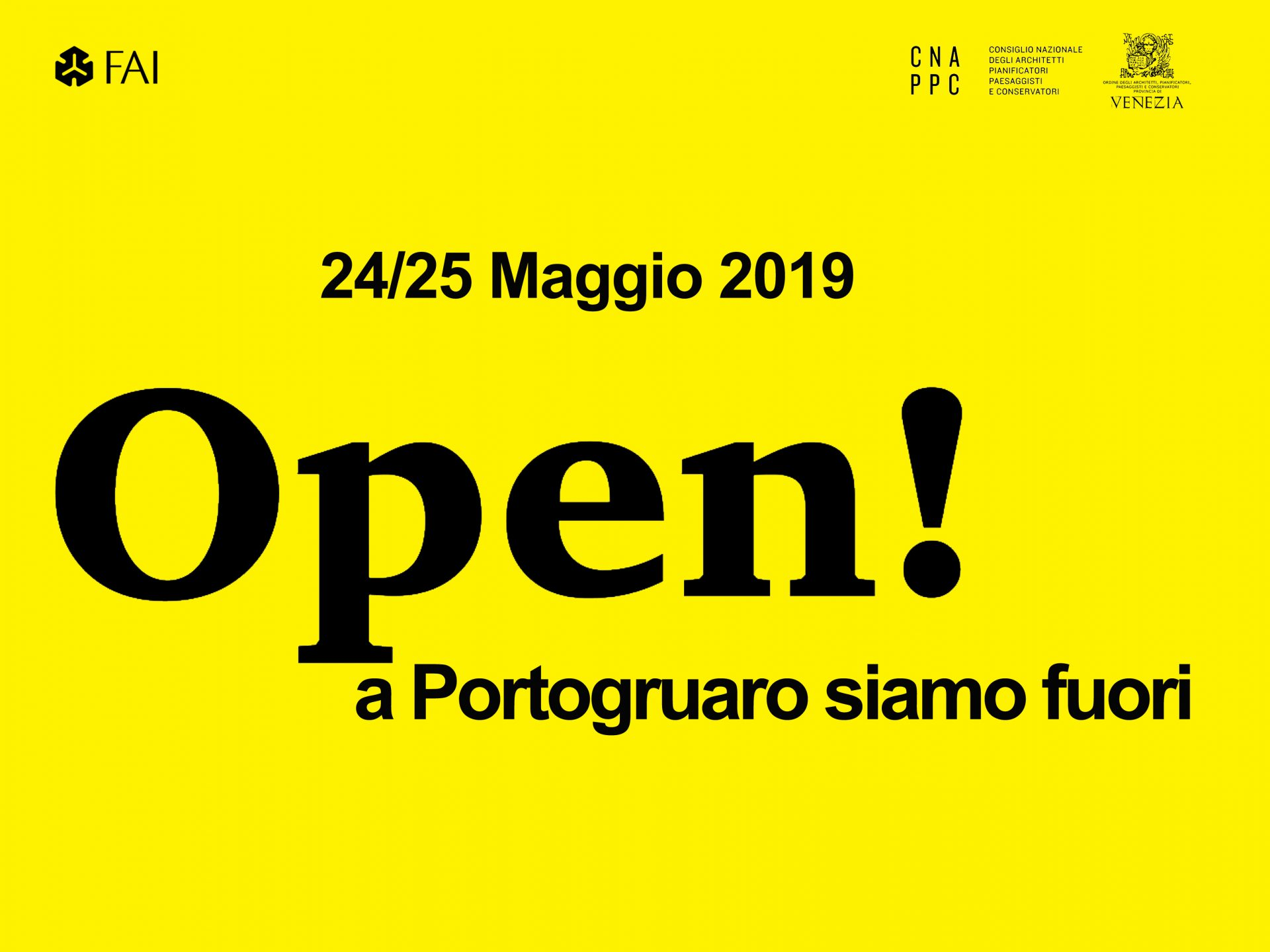 evento Open 2019