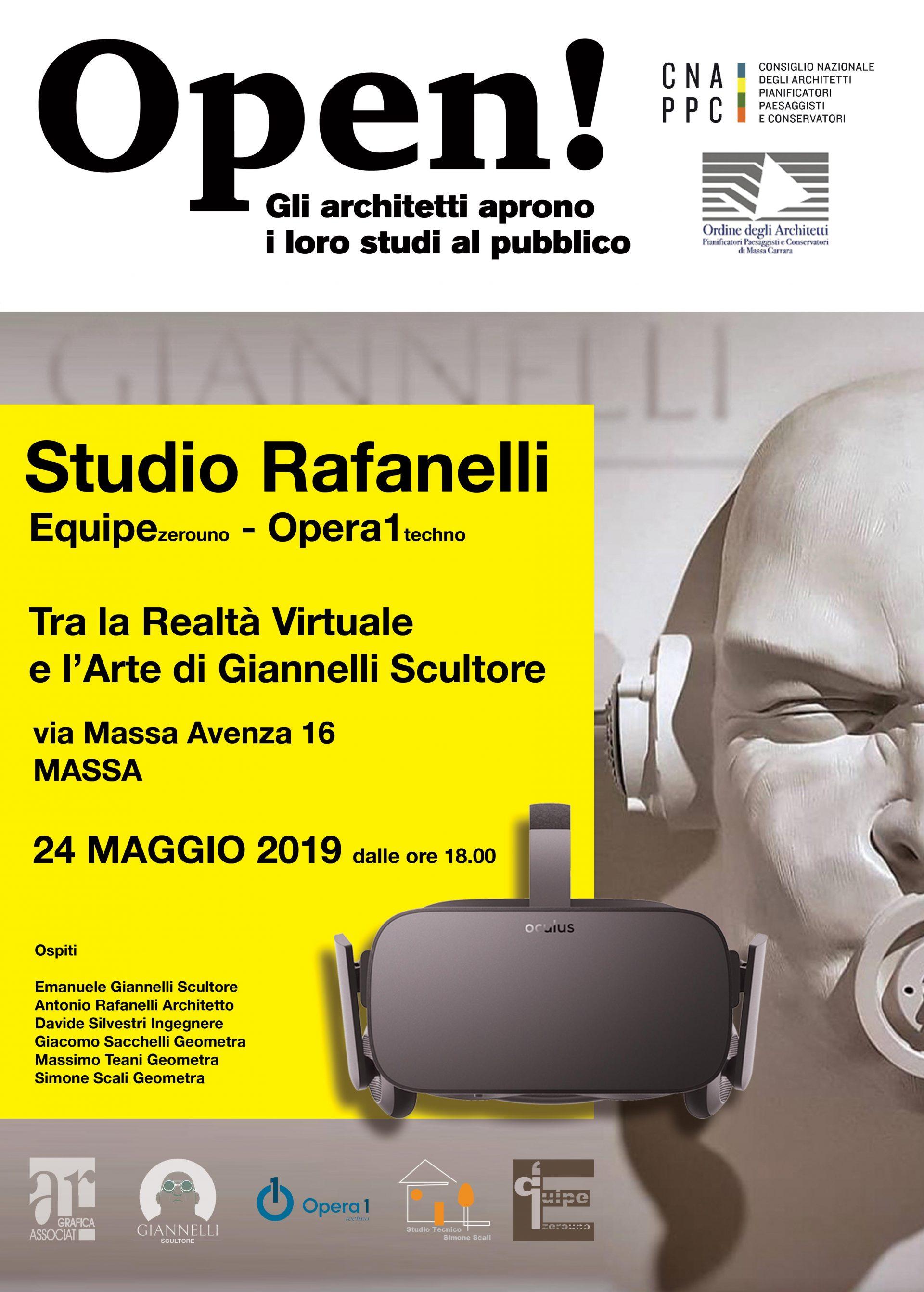 Realtà Virtuale e l'Arte di Giannelli Scultore
