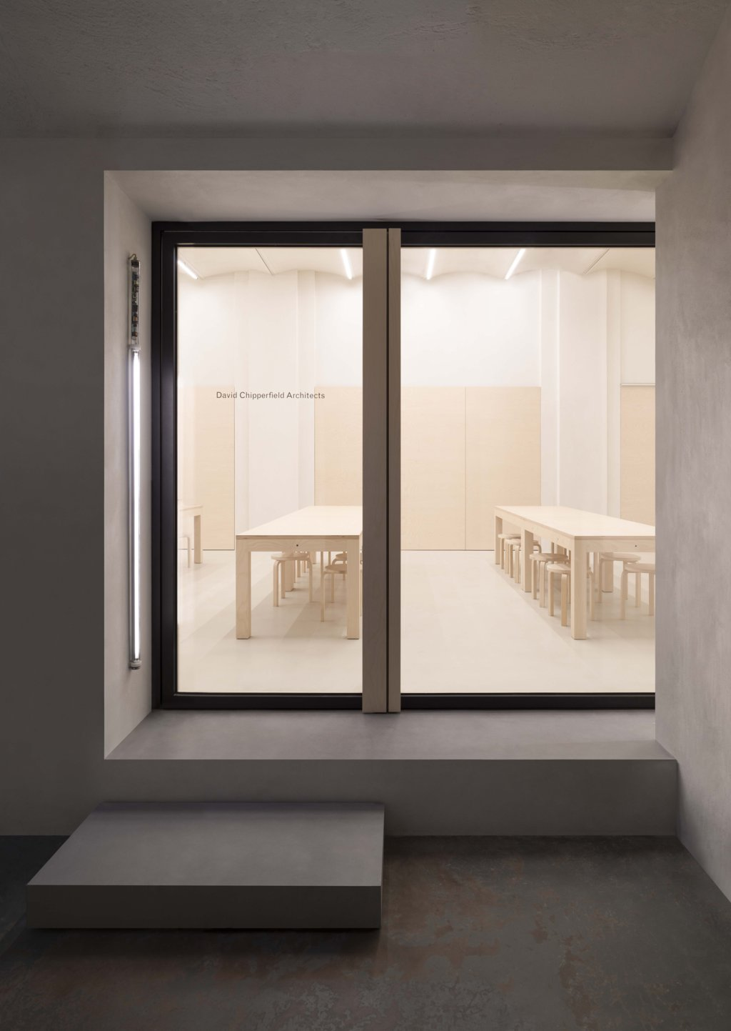 David Chipperfield Architects Milan office, the Atelier from the outside.