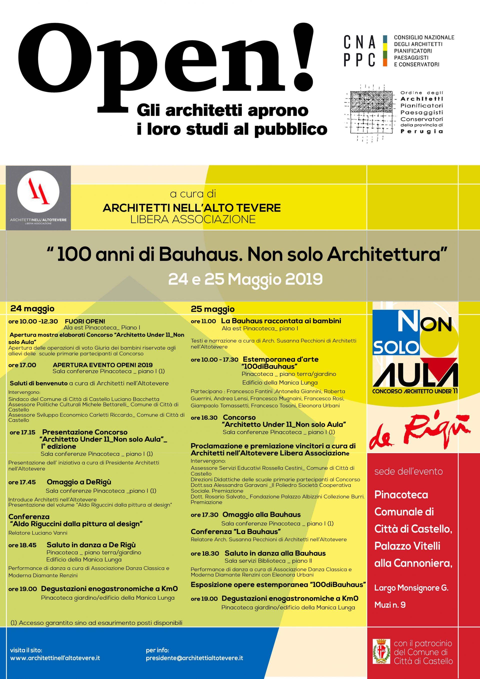 Locandina dell'evento e programma