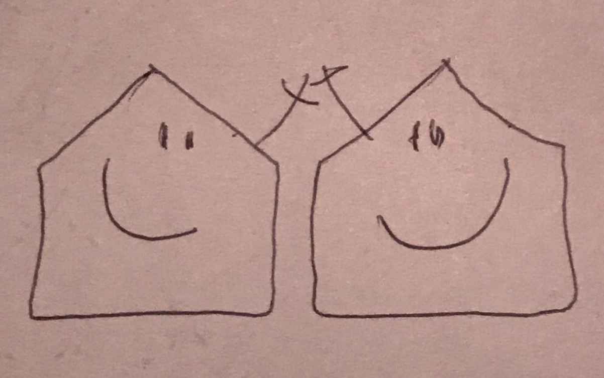Case che sorridono
