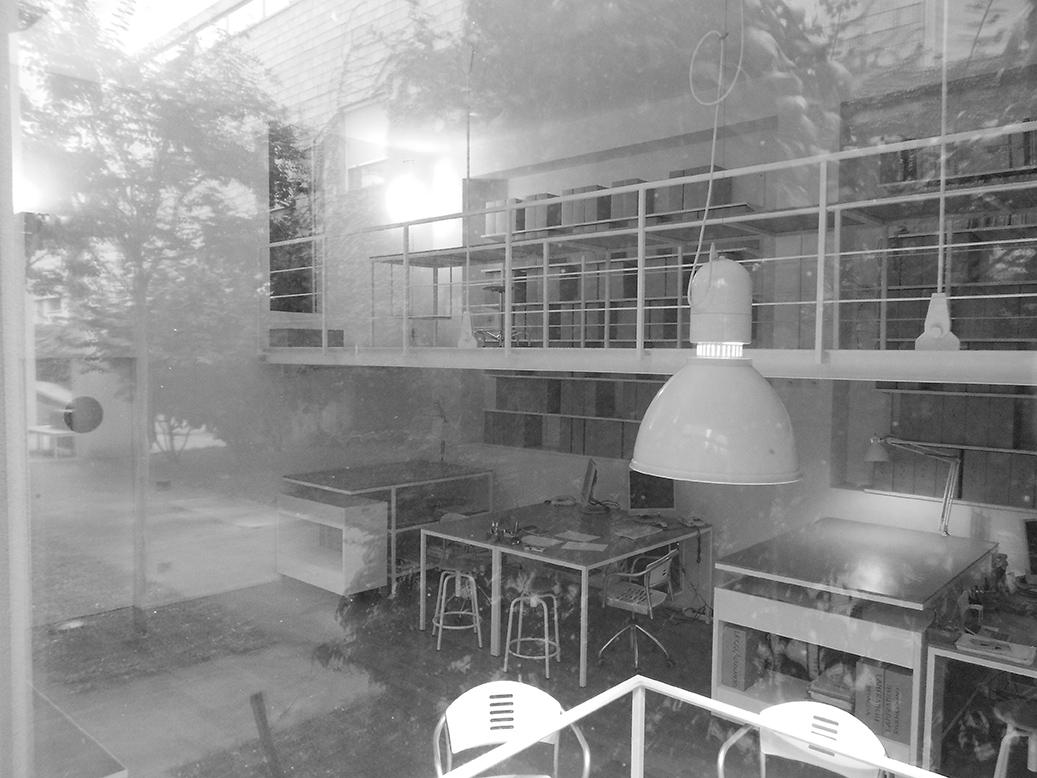 Fotografia dell'interno dello Studio Associato Zambianchi e Denari Architetti