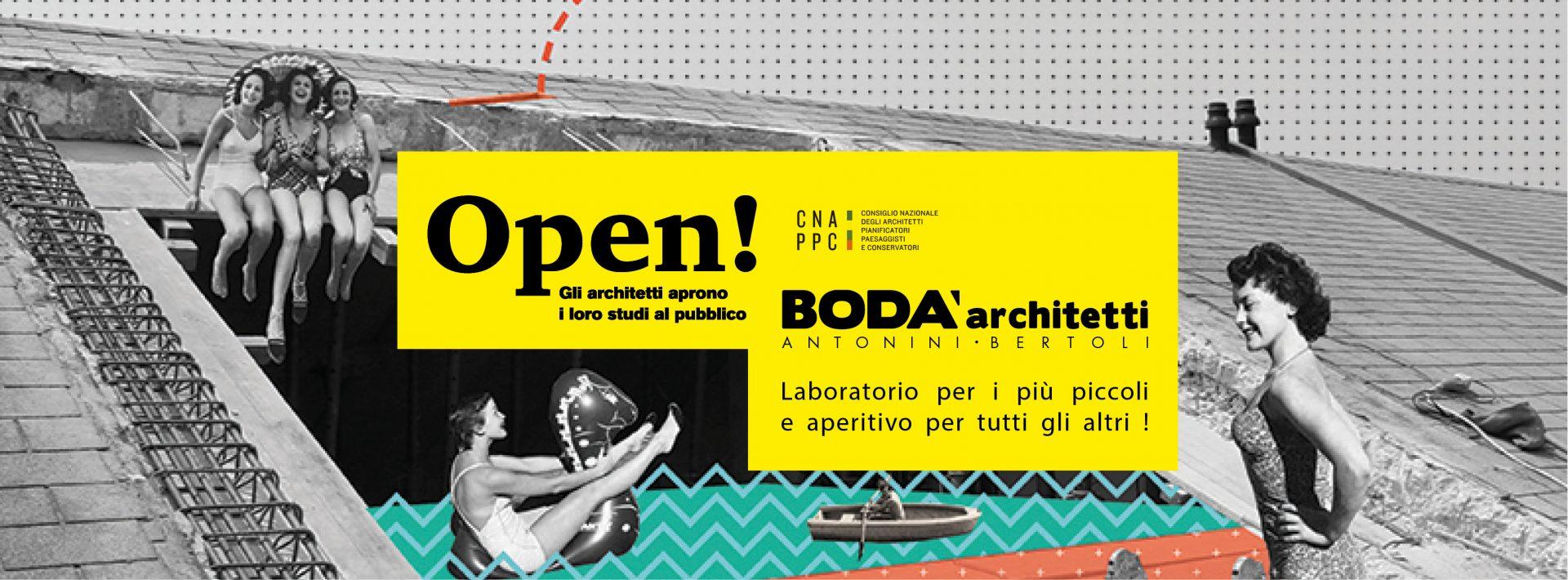 Locandina evento Bodà Architetti Studi Aperti 2019