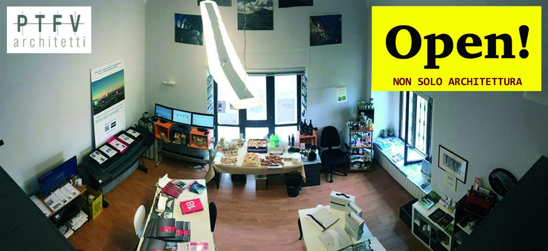 """PTFV architetti - """"OPEN 2019 - Non solo architettura"""""""