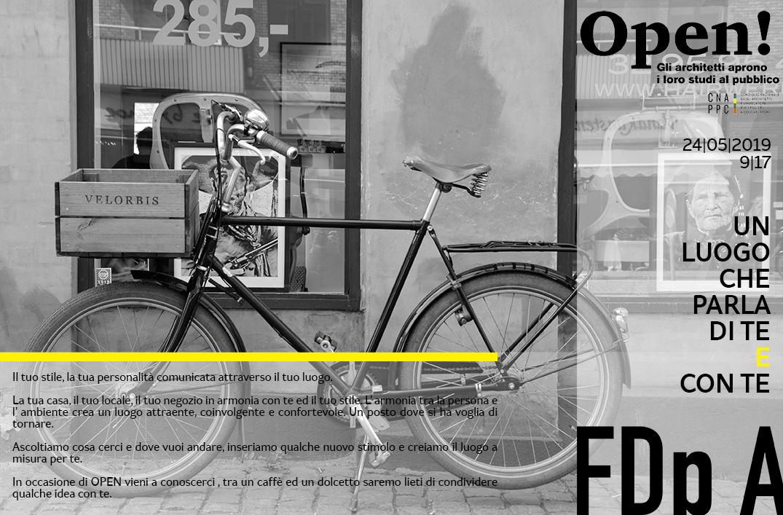 Fotografia di una bicicletta