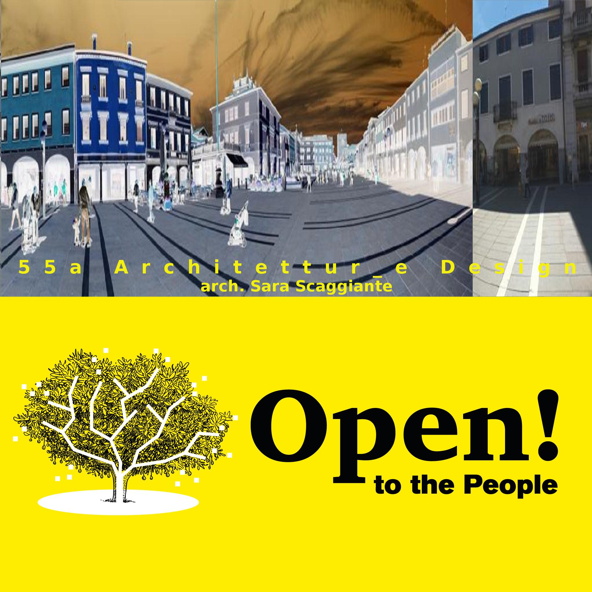 foto della piazza dov'è collocato lo studio