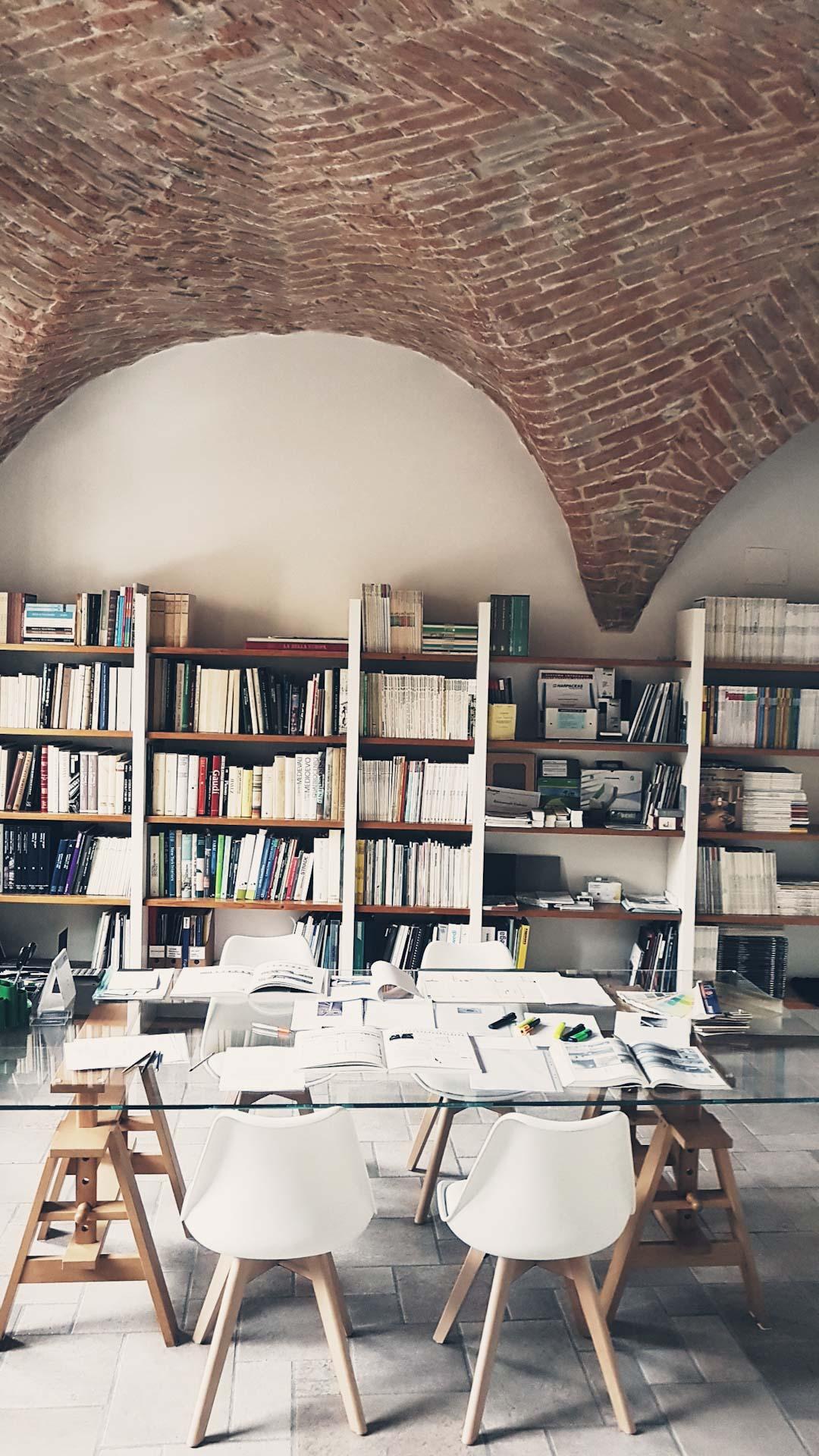 fotografia di una parte dello studio