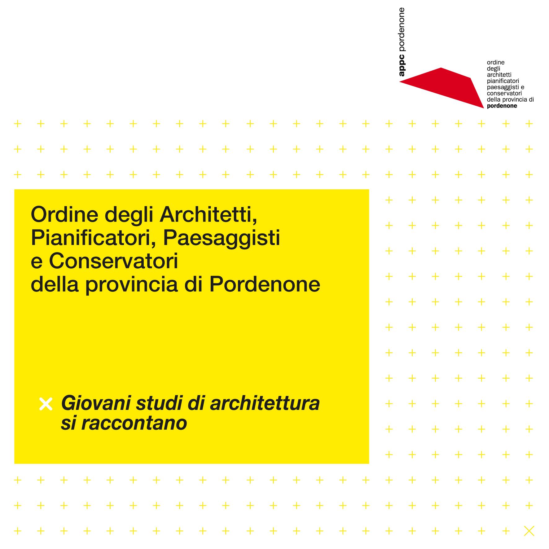 Giovani studi di architettura si raccontano