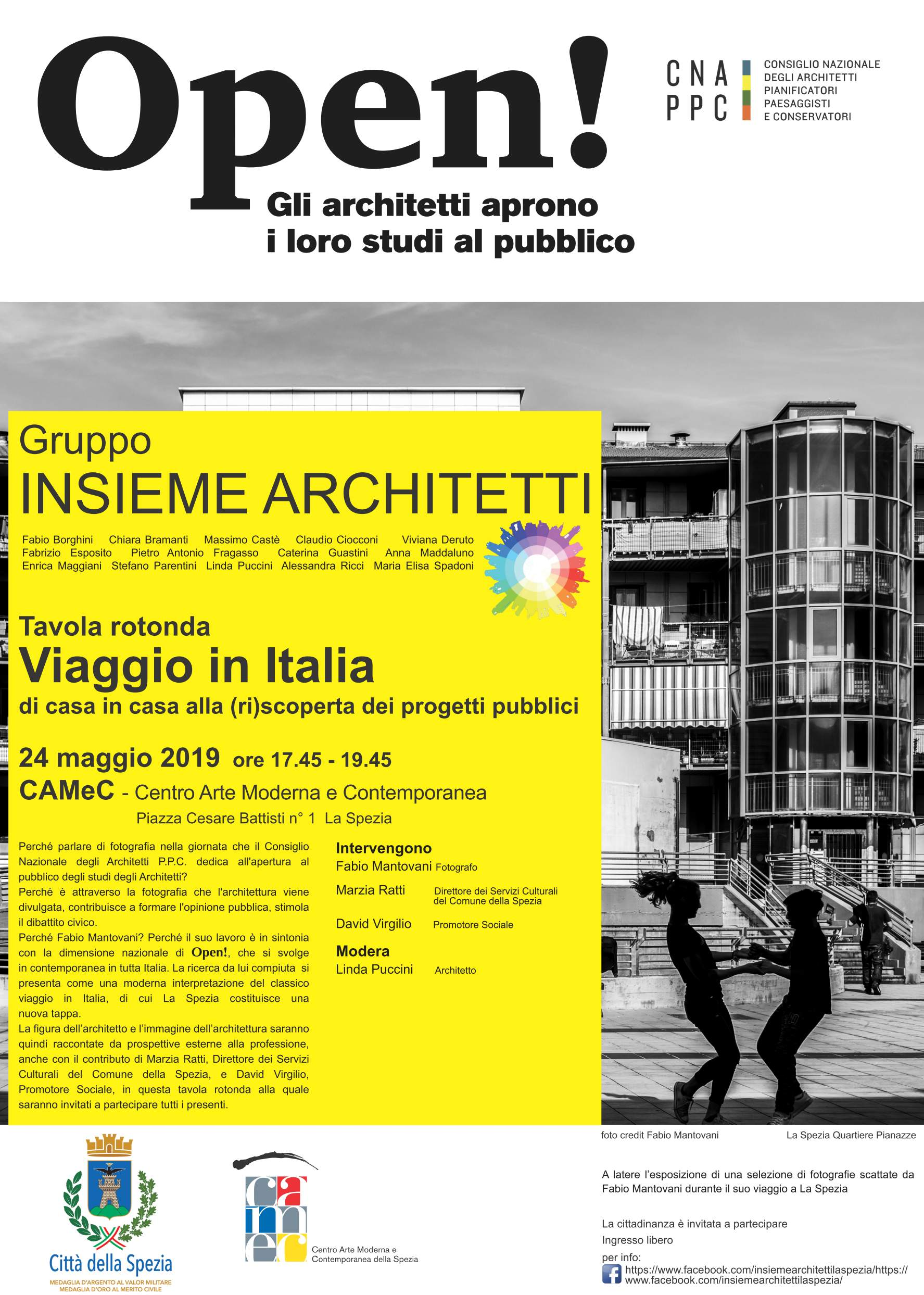 Locandina illustrativa dell'evento