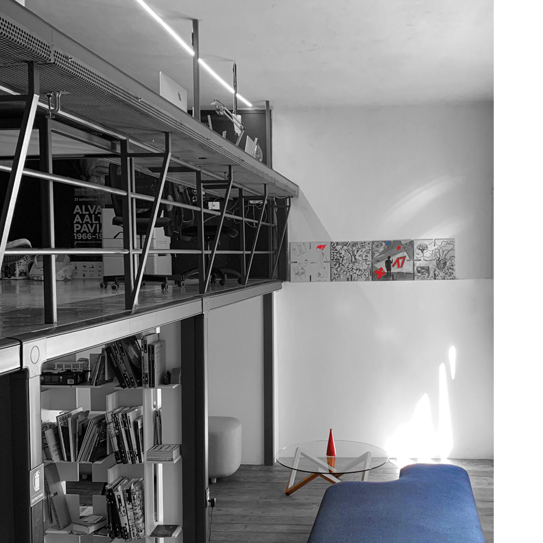 Fotografia dello studio di architettura in Pavia