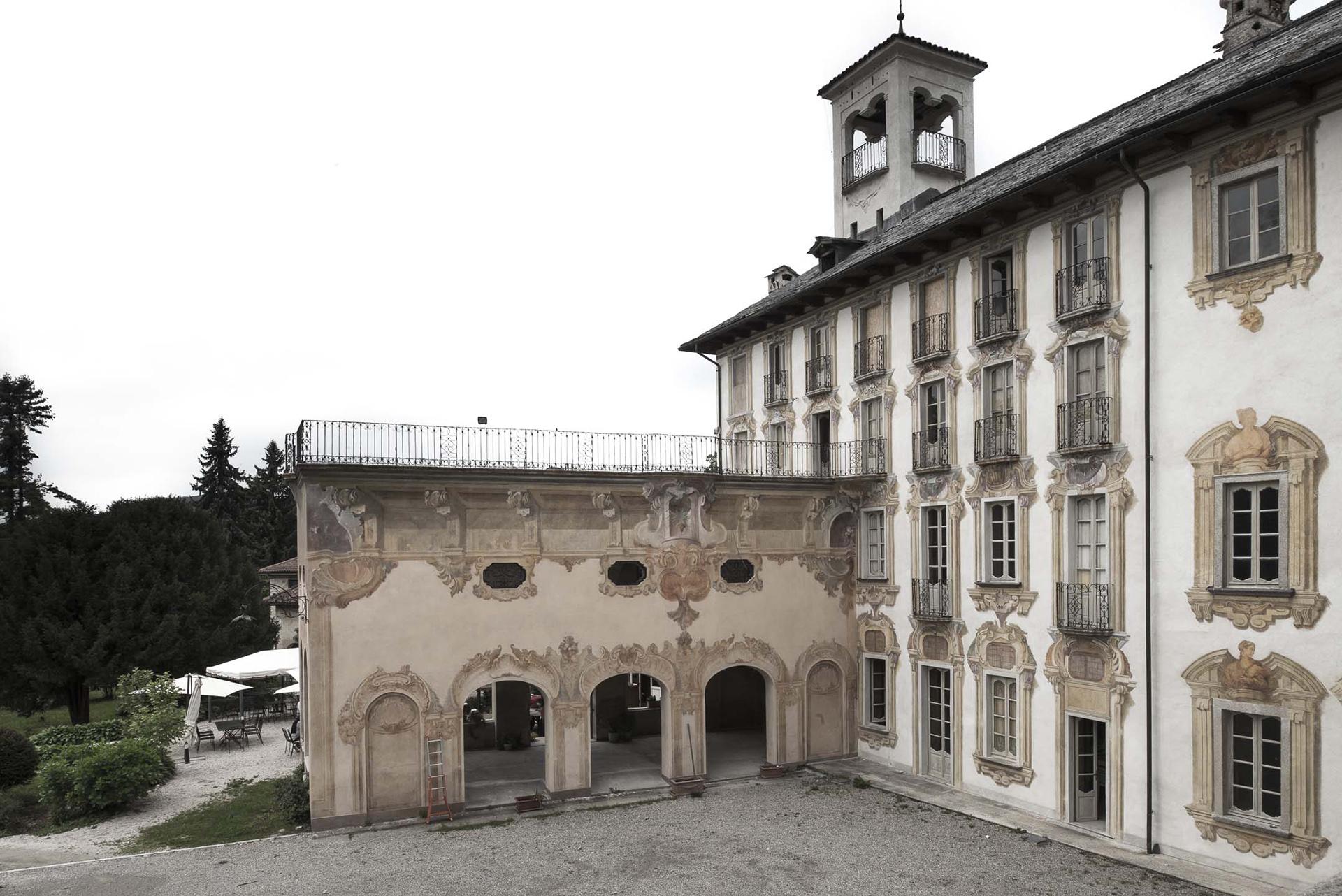 scatto di Villa Nigra di Fabio Oggero